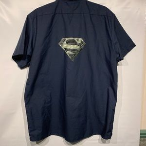 Superman Dickies short sleeve shirt